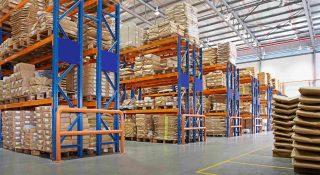 zone de stockage entrepôt logistique